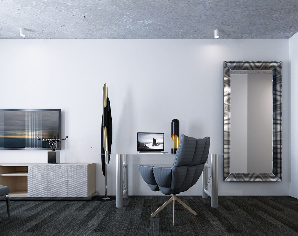 Дизайн квартиры в минималистичном стиле