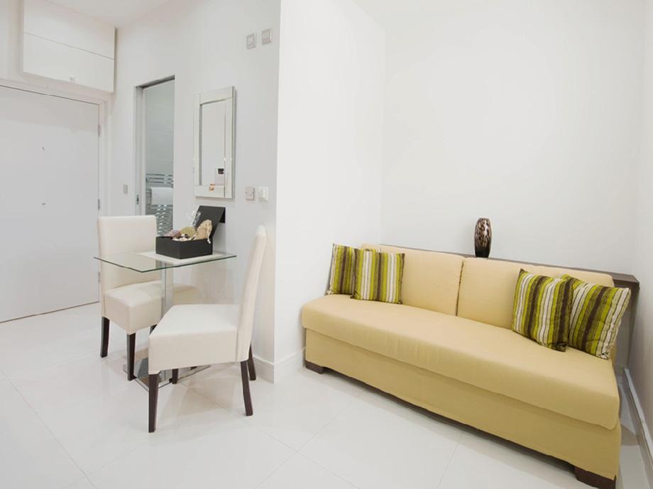 Интерьер квартиры-студии 16 м в Лондоне