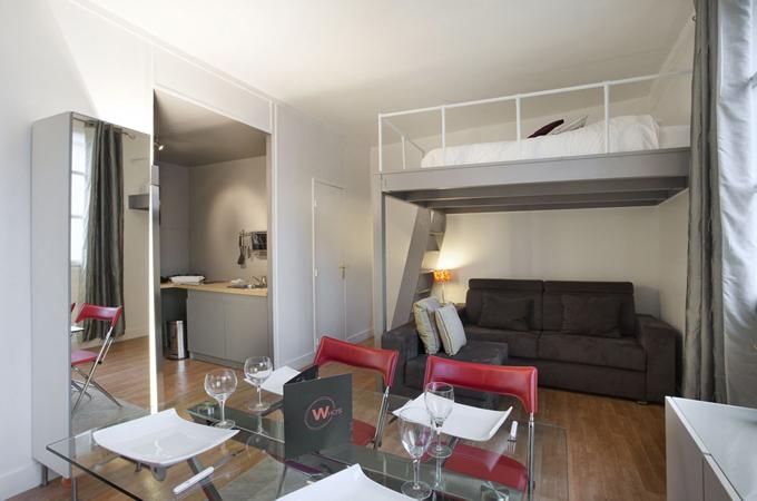 Дизайн квартиры студии квадратной