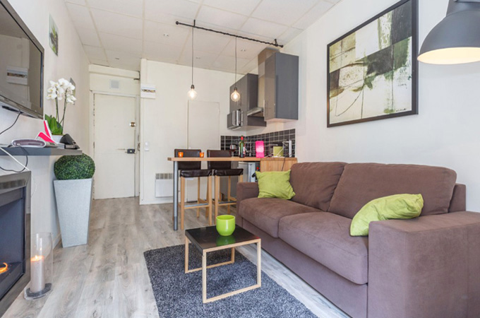 Дизайн маленьких квартир студий фото в 27 квадратов