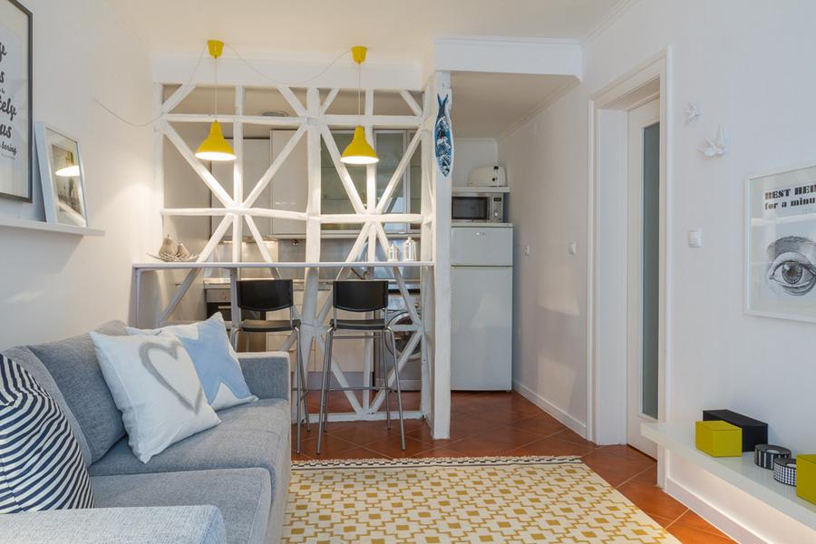 30 for Piccoli appartamenti di design