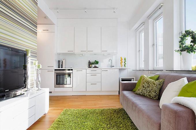 Дизайн квартиры студии - фото интерьеров: http://kvartirastudio.ru/design-interior.html