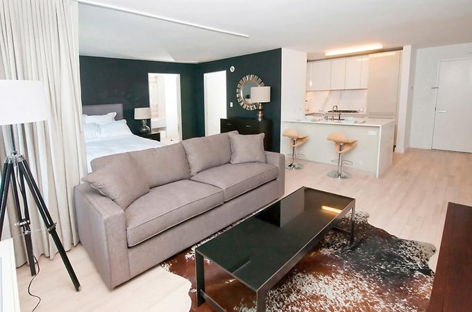 Интерьер квартиры 55 м в нью йорке