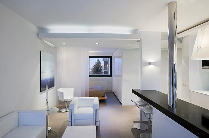Квартиры-студии дизайн интерьер